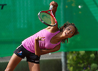 August 6, 2014, Netherlands, Rotterdam, TV Victoria, Tennis, National Junior Championships, NJK,  Daevina Achong (NED)<br /> Photo: Tennisimages/Henk Koster