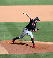 Cal Quantrill - Cleveland Indians 2021 spring training (Bill Mitchell)