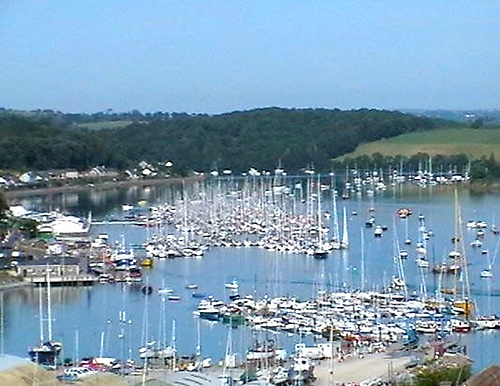 Cork Week, and the fleet's in Crosshaven. Somewhere in the midst of them all is Witchcraft, anticipating Airbnb with sometimes as many as eleven sleeping on board.