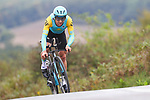 Alexey Lutsenko of Kazakhstan in action during the Men Elite Individual Time Trial of the UCI World Championships 2019 running 54km from Northallerton to Harrogate, England. 25th September 2019.<br /> Picture: Alex Whitehead/SWpix.com | Cyclefile<br /> <br /> All photos usage must carry mandatory copyright credit (© Cyclefile | Alex Whitehead/SWpix.com)