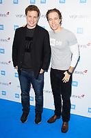 Craig and Marc Kielburger<br /> arriving for WE Day 2018 at Wembley Arena, London<br /> <br /> ©Ash Knotek  D3386  07/03/2018
