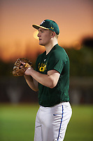 Tyler Peterson (54), from Minneapolis, Minnesota, while playing for the Athletics during the Under Armour Baseball Factory Recruiting Classic at Gene Autry Park on December 27, 2017 in Mesa, Arizona. (Zachary Lucy/Four Seam Images)