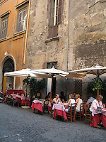 ITALY--Roman Cafes