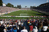 USA Fans at Spartan Stadium. The USA defeated China, 4-1, in an international friendly at Spartan Stadium, San Jose, CA on June 2, 2007.