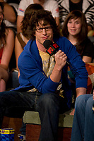 Toronto (ON) CANADA, July 12, 2007-<br /> <br /> Saturday Night Live's Andy Samberg is on the show talking about his upcoming film Hot Rod which hits theatres August 3.<br /> <br /> <br /> photo by Cody Bokshowan - Images Distribution