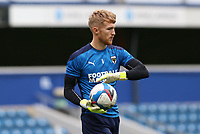 Connal Trueman of AFC Wimbledon warming up during AFC Wimbledon vs Shrewsbury Town, Sky Bet EFL League 1 Football at The Kiyan Prince Foundation Stadium on 17th October 2020