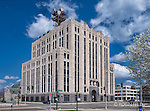 Architectural photo of deco building AT&T Dayton Ohio