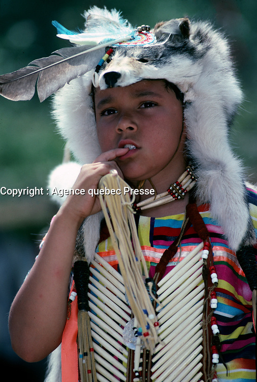 les fetes de la Nouvelle France, a Quebec<br /> entre 1995 et 2005<br /> (date exacte inconnnue)<br /> <br /> PHOTO : Agence Quebec Presse