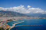 Alanya scene of Stage 1 of the 2015 Presidential Tour of Turkey. 26th April 2015.<br /> Photo: Tour of Turkey/Steve Thomas/www.newsfile.ie