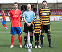 Mackenzie Furniss who suffers from aggressive cancer neuroblastoma was mascot for the day as part of her heartbreaking appeal to raise cash for her high tech treatment in Germany. Mackenzie was the subject of a Lisa Adams feature in The Scottish Sun last week.