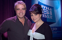 MUsimax television host<br /> <br /> Mike Gauthier,<br /> Sonia Benezra<br /> <br /> photo : (c)  Images Distribution