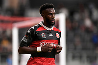 19th March 2021; Bankwest Stadium, Parramatta, New South Wales, Australia; A League Football, Western Sydney Wanderers versus Perth Glory; Bernie Ibini of Western Sydney Wanderers thinks he's scored but his goal is disallowed for offside