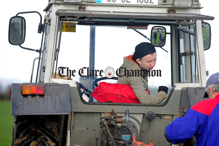 Sinead Corbett, Newmarket  during the ploughing match at O'Callaghans Mills.pic Arthur Ellis.
