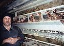 Irak 2002.......Dans son elevage de poules a coté d'Erbil  Iraq 2002 .....in his chicken farm near Erbil