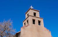 Santa Fe New Mexico Santuario de Guaoajupe  the Extant Shrine to OUr Lady of Guadalupe in USA