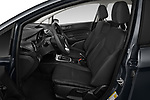 Front seat view of a 2019 Ford Fiesta SE 5 Door Hatchback front seat car photos