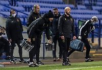 Mansfield Town's caretaker manager Richard Cooper (2nd right) <br /> <br /> Photographer Andrew Kearns/CameraSport<br /> <br /> The EFL Sky Bet League Two - Bolton Wanderers v Mansfield Town - Tuesday 3rd November 2020 - University of Bolton Stadium - Bolton<br /> <br /> World Copyright © 2020 CameraSport. All rights reserved. 43 Linden Ave. Countesthorpe. Leicester. England. LE8 5PG - Tel: +44 (0) 116 277 4147 - admin@camerasport.com - www.camerasport.com