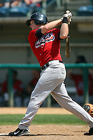 July 16 2008: Chris Minaker of the High Desert Mavericks during game against the Rancho Cucamonga Quakes at The Epicenter in Rancho Cucamonga,CA.  Photo by Larry Goren/Four Seam Images
