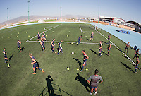 U17 MNT training sessions April 18, 2009 at the Centro de AltoRendimiento Baja California. 2009 CONCACAF Under-17 Championship From April 21-May 2 in Tijuana, Mexico