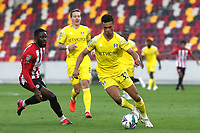 Antonee Robinson of Fulham in action during Brentford vs Fulham, Caraboa Cup Football at the Brentford Community Stadium on 1st October 2020