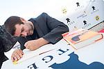 Writter Pablo Tebar, winner of Minotauro Award signing his book at Sitges Film Festival in Barcelona, Spain October 10, 2017. (ALTERPHOTOS/Borja B.Hojas)