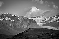 Mount Hayes, seen from the Denali Highway, Alaska.