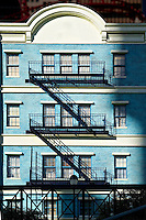 Old New York apartment building.