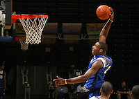 Branden Dawson at the NBPA Top100 camp at the John Paul Jones Arena Charlottesville, VA. Visit www.nbpatop100.blogspot.com for more photos. (Photo © Andrew Shurtleff)