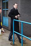 © Joel Goodman - 07973 332324 . 28/03/2015 . Manchester , UK . Chancellor GEORGE OSBORNE arrives at the Conservative Party Spring Forum at the Old Granada Studios , Quay Street , Manchester . Photo credit : Joel Goodman