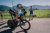 Laurens De Plus (BEL/QuickStep Floors)<br /> <br /> MEN ELITE INDIVIDUAL TIME TRIAL<br /> Hall-Wattens to Innsbruck: 52.5 km<br /> <br /> UCI 2018 Road World Championships<br /> Innsbruck - Tirol / Austria
