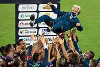 Rio de Janeiro (RJ), 15/07/2020 - Flamengo-Fluminense - Jorge Jesus. Partida entre Flamengo e Fluminense, válida pela final do Campeonato Carioca 2020, no Estádio Jornalista Mário Filho (Maracanã), na zona norte do Rio de Janeiro, nesta quarta-feira (15).