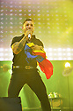 MIRAMAR, FLORIDA - JULY 17: Jessi Uribe performs onstage during the Gran Festival Independencia de Colombia at Miramar Regional Park Ampitheatre on July 17, 2021 in Miramar, Florida. ( Photo by Johnny Louis / jlnphotography.com )