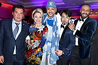 """Natalia Gordienko, Philip Kirkorov, Song Yin-Xi<br /> Private music evening with RedOne. The Hotel """"Four Seasons"""". Moscow, Russia - 18 Dec 2020<br /> CAP/PER/EN<br /> ©EN/PER/Capital Pictures"""