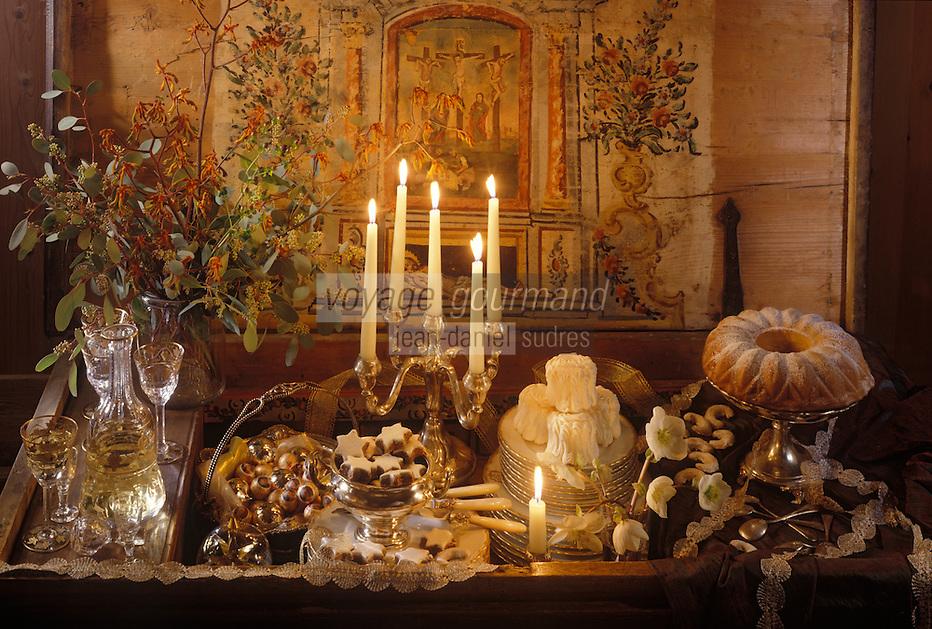 Europe/Autriche/Salzbourg : Repas de Noël