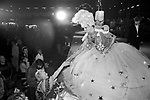 The Alternative Miss World beauty pageant  competition.  The winning contestant Miss Aldershot - Michael Haynes Olympia West London 1981.<br />