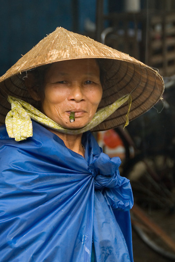 Like tobacco, betel nut is a mild stimulant which can also be chewed. It's also a cause of many cancers and the blackened teeth you see in Asian countries. Culturally, black teeth are a sign of beauty and are desirable. In fact, some people have resorted to coloring their teeth to mimic the desired stains received from chewing the betel nut.