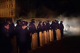 Pro EU Demonstrationen in Kiew,  Polizeikräfte sichern die Straßen 04.12.2013 /  Pro European demonstrations in Kiev