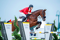 BEL-Constantin Rijckevorsel rides Inside Out du Langwater during the Showjumping. 2021 SUI-FEI European Eventing Championships - Avenches. Switzerland. Sunday 26 September 2021. Copyright Photo: Libby Law Photography