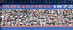Rangers v St Mirren:  Rangers fan mosaic along the Govan Stand