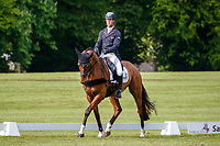 AUS-Kevin McNab rides Global Victory during the Dressage for the CCIO-S 4* Section D. 2021 GBR-Saracen Horse Feeds Houghton International Horse Trials. Hougton Hall. Norfolk. England. Friday 28 May 2021. Copyright Photo: Libby Law Photography
