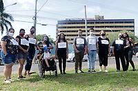 14/01/2021 - PROTESTO CONTRA FECHAMENTO DE ALA PEDIATRA EM SUMARÉ