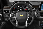 Car pictures of steering wheel view of a 2021 Chevrolet Tahoe Premier 5 Door SUV Steering Wheel