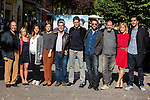 "Ramon Arroyo, Marcel Barrena, Dani Rovira, Karra Elejalde, Alexandra Jimenez during the photocall with the arctor of the film ""100 METROS"" at Paz cinema in  Madrid, Spain. November 02, 2016. (ALTERPHOTOS/Rodrigo Jimenez)"