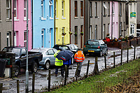 Canal Side in the Aberdulais area of Neath, Wales, UK. Thursday 20 February 2020