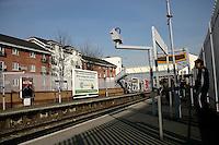 Abbeywood train station in southeast London, UK