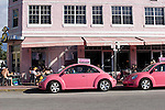Big Pink Restaurant, South Beach, Miami, Florida
