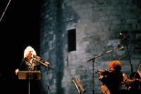 LEO FERRE<br /> la rochelle 1987<br /> © TERRASSON / DALLE