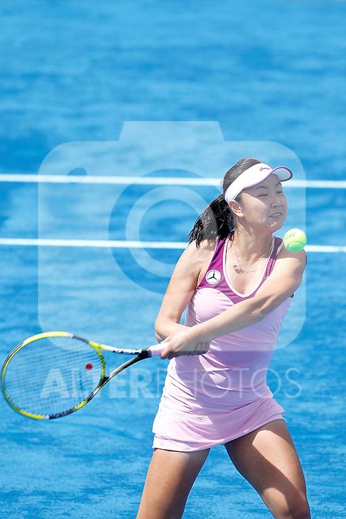 Shuai Peng during Madrid Open Tennis 2012 Match.May, 7, 2012(ALTERPHOTOS/ALFAQUI/Acero)