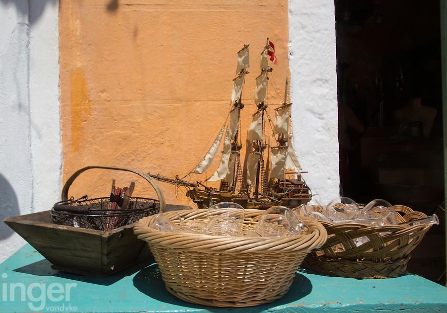 Antique shop on Kastellorizo, Greece