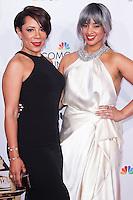 PASADENA, CA, USA - OCTOBER 10: Selenis Leyva, Dascha Polanco arrive at the 2014 NCLR ALMA Awards held at the Pasadena Civic Auditorium on October 10, 2014 in Pasadena, California, United States. (Photo by Celebrity Monitor)